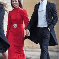 Emma Louise Connolly et Ollie Proudlock au mariage de la princesse Eugenie et Jack