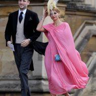 pixie geldof et george barnett au mariage de la princesse eugenie et jack
