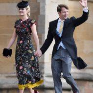 sofia wellesley et james blunt au mariage de la princesse eugenie et jack
